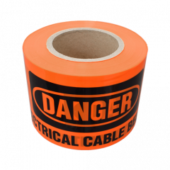 100m Danger Tape - Electrical Cable Below