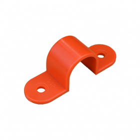 20mm Orange Plastic Full Saddle