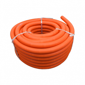 25mm Orange HD Flexible Conduit - 25m