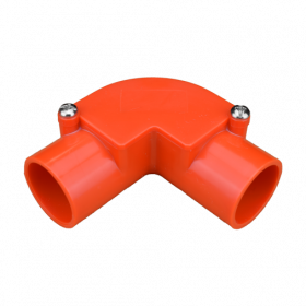 25mm Orange Inspection Elbow