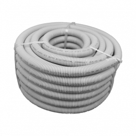32mm Grey HD Solar Flexible Conduit - 25m