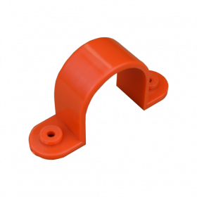 32mm Orange Plastic Full Saddle