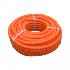 20mm Orange HD Flexible Conduit - 25m