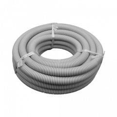 25mm Grey MD Flexible Conduit - 10m