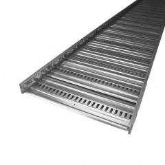Steel and Tube ET3 Cable Tray Galv 450mm x 3m